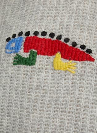 - ANGEL CHEN - Oversize Hand Crochet Lizard Sweater