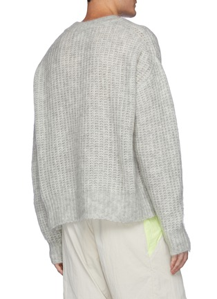 Back View - Click To Enlarge - ANGEL CHEN - Oversize Hand Crochet Lizard Sweater