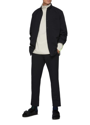 Figure View - Click To Enlarge - NANAMICA - Alphadry' Belted Cropped Pants