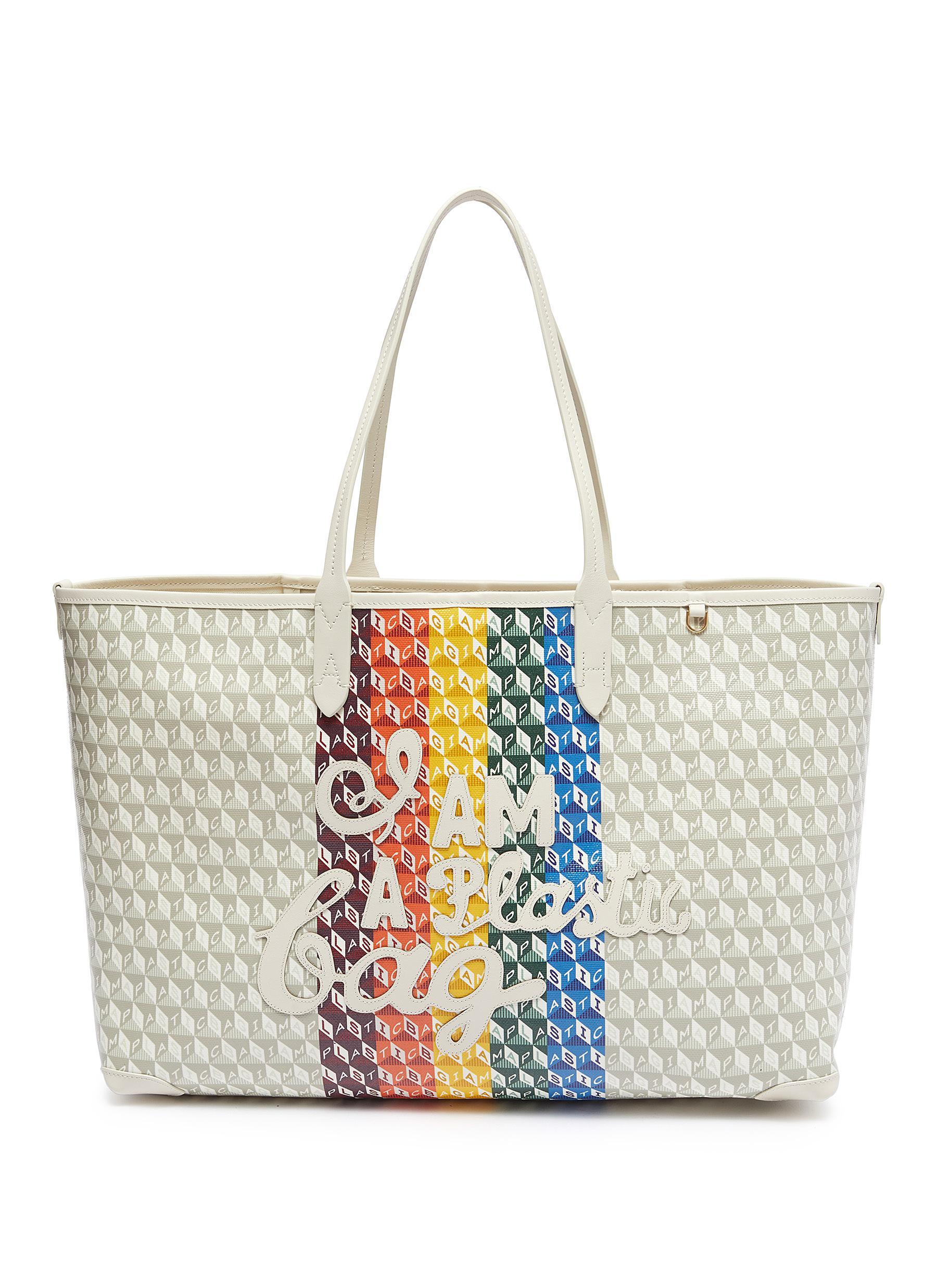 I Am A Plastic Bag' Rainbow Motif Tote - ANYA HINDMARCH - Modalova