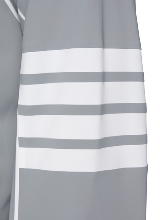 - THOM BROWNE - Four Bar Stripe Armband Raglan Jacket