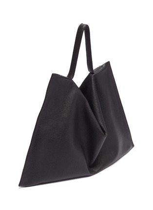 Detail View - Click To Enlarge - TSATSAS - NATHAN' Leather Tote Bag