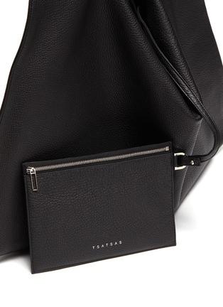- TSATSAS - NATHAN' Leather Tote Bag