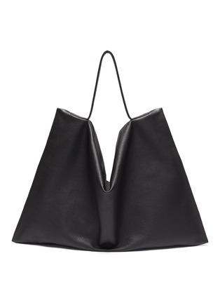 Main View - Click To Enlarge - TSATSAS - NATHAN' Leather Tote Bag