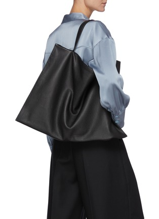Figure View - Click To Enlarge - TSATSAS - NATHAN' Leather Tote Bag