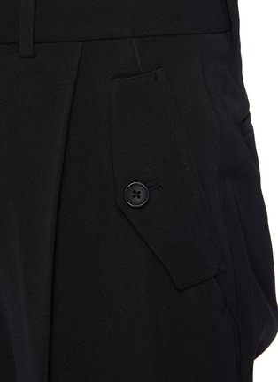 - RE: BY MAISON SANS TITRE - Pleated Tappered Pants