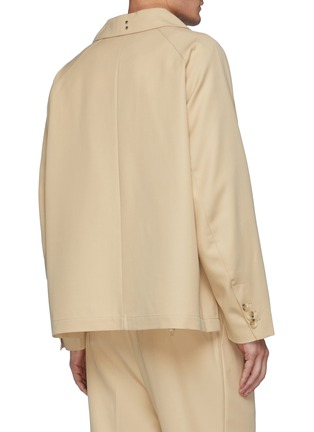 Back View - Click To Enlarge - RE: BY MAISON SANS TITRE - Four Pocket Wool Jacket