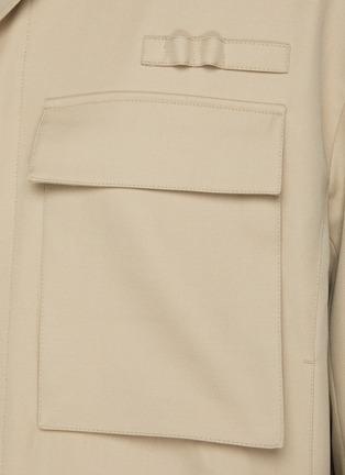 - RE: BY MAISON SANS TITRE - Flap Pocket Wool Jacket