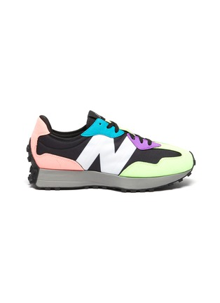 Main View - Click To Enlarge - NEW BALANCE - 327 Miami' Contrast Overlay Low Top Sneakers