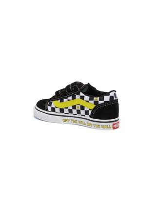 - VANS - x SpongeBob SquarePants 'Old Skool' Checkboard Print Canvas Toddler Sneakers