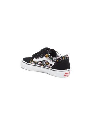 Detail View - Click To Enlarge - VANS - Old Skool' Floral Print Double Velcro Kids Sneakers