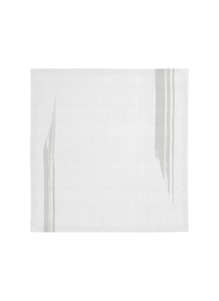Main View - Click To Enlarge - ANDRÉ FU LIVING - Artisan Brush' Square Napkin – White