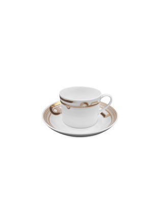 Main View - Click To Enlarge - ANDRÉ FU LIVING - Western Tea Cup with Saucer