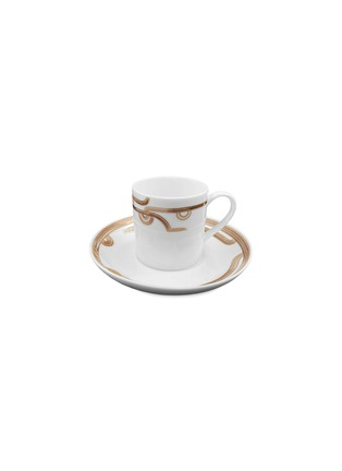 Main View - Click To Enlarge - ANDRÉ FU LIVING - Coffee Cup with Saucer