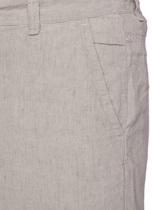 - RAG & BONE - 'Eaton' linen blend shorts