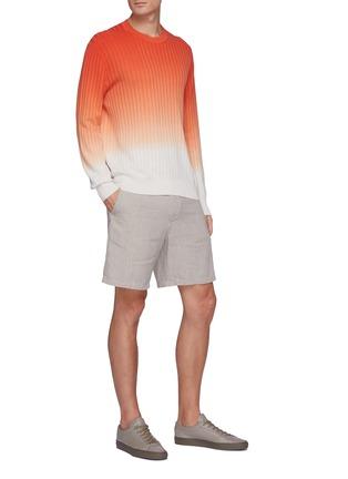 Figure View - Click To Enlarge - RAG & BONE - 'Eaton' linen blend shorts