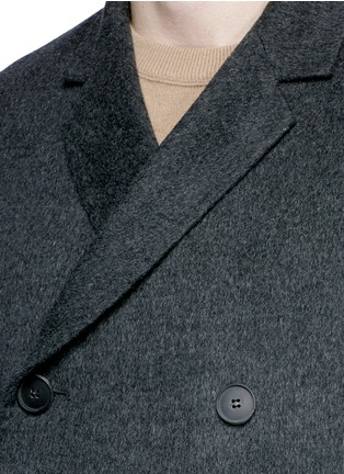 Detail View - Click To Enlarge - ACNE STUDIOS - 'Carl' wool-cashmere coat