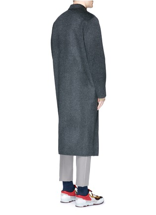 Back View - Click To Enlarge - ACNE STUDIOS - 'Carl' wool-cashmere coat