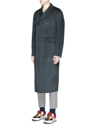 Figure View - Click To Enlarge - ACNE STUDIOS - 'Carl' wool-cashmere coat