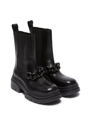 Detail View - Click To Enlarge - ASH - Storm Chain' Round Toe Chelsea Boots