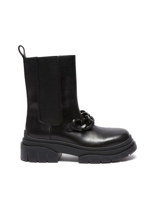 Main View - Click To Enlarge - ASH - Storm Chain' Round Toe Chelsea Boots