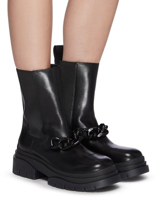 Figure View - Click To Enlarge - ASH - Storm Chain' Round Toe Chelsea Boots
