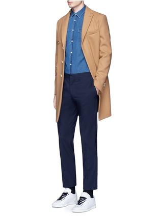 Figure View - Click To Enlarge - Acne Studios - 'Ewing' washed cotton denim Western shirt