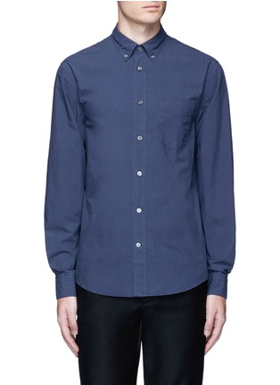 Main View - Click To Enlarge - Acne Studios - 'Isherwood' button down collar poplin shirt
