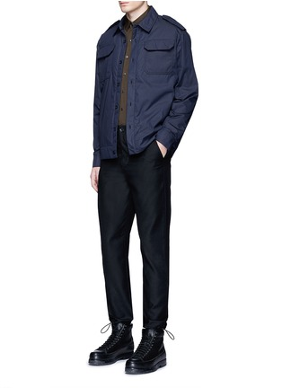 Figure View - Click To Enlarge - Acne Studios - 'Salvador' padded water repellent shirt jacket