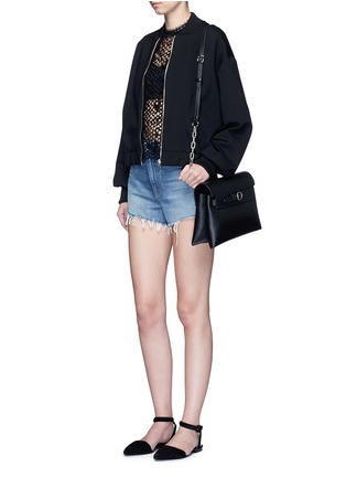 - Alexander Wang  - 'Attica' top handle crossbody leather bag