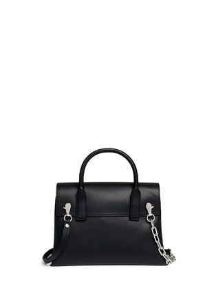 Back View - Click To Enlarge - Alexander Wang  - 'Attica' top handle crossbody leather bag