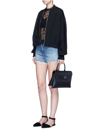 Figure View - Click To Enlarge - Alexander Wang  - 'Attica' top handle crossbody leather bag