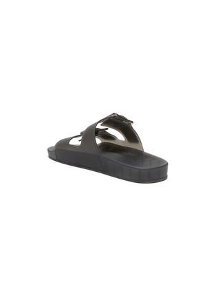 - BALENCIAGA - 'Mallorca' Translucent Double Strap Flatform Sandals