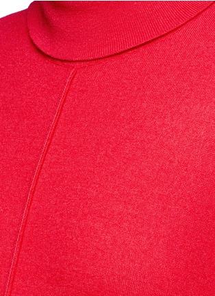 Detail View - Click To Enlarge - Stella McCartney - Virgin wool turtleneck maxi sweater dress