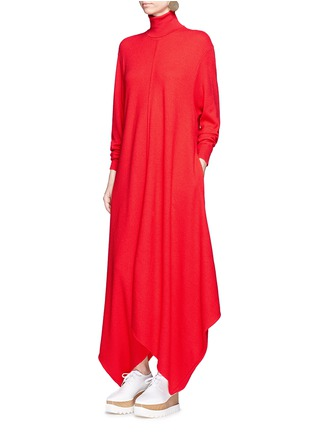 Figure View - Click To Enlarge - Stella McCartney - Virgin wool turtleneck maxi sweater dress