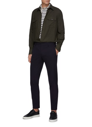 Figure View - Click To Enlarge - PT TORINO - Kinetic Stretch Pants