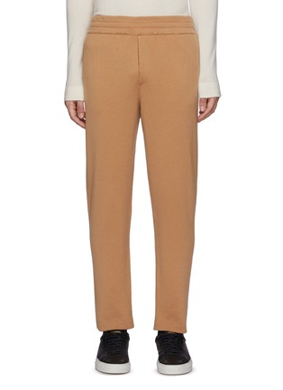 Main View - Click To Enlarge - PT TORINO - Wool Cashmere Blend Sweatpants