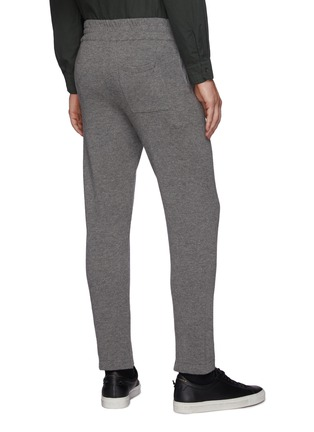 Back View - Click To Enlarge - PT TORINO - Wool Cashmere Blend Sweatpants