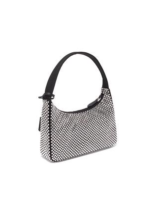 Detail View - Click To Enlarge - PRADA - Crystal embellished shoulder bag