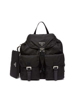 Main View - Click To Enlarge - PRADA - 'Vela' Re-nylon backpack