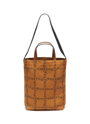 Main View - Click To Enlarge - JW ANDERSON - Logo Grid Canvas Tote Bag