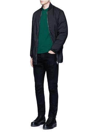 Figure View - Click To Enlarge - McQ Alexander McQueen - Logo print cotton polo shirt