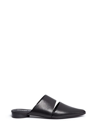 Main View - Click To Enlarge - Opening Ceremony - 'Livre' cutout leather mules