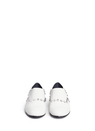 Front View - Click To Enlarge - OPENING CEREMONY - 'Charly' jewel leather slip-ons