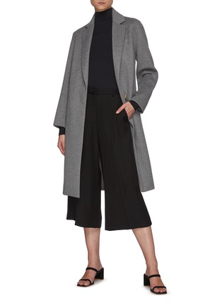 Figure View - Click To Enlarge - VINCE - Long Sleeved Turtleneck Top