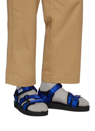 Figure View - Click To Enlarge - SUICOKE - Three Straps Sandal