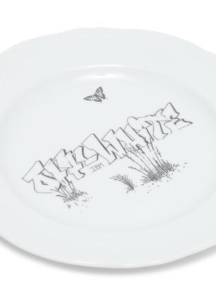 Detail View - Click To Enlarge - GINORI 1735 - Off-White™ x Ginori 1735 Graffiti Print Circle Plate