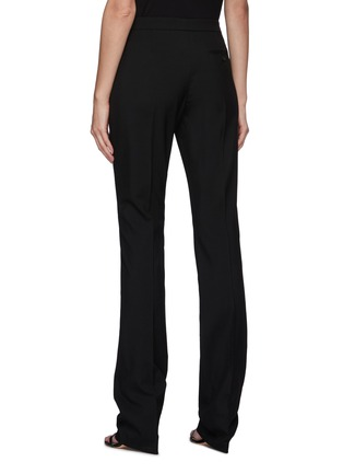 Back View - Click To Enlarge - ALEXANDER MCQUEEN - Long Cig Wool Tailoring Pants