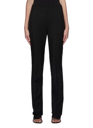 Main View - Click To Enlarge - ALEXANDER MCQUEEN - Long Cig Wool Tailoring Pants