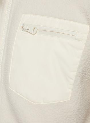 - MACKAGE - Rex' Back Pocket Fleece Zip Up Jacket
